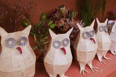 Tutorial for owl lanterns