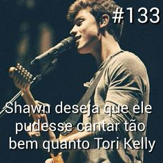 Os dois cantam bem Tori Kelly, Shawn Mendes Facts, Magcon, Muffin, Pickup Lines, Cupcake, Stars, Facts, Men