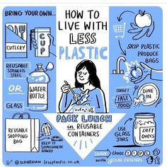 WEBSTA @plaineproducts Gorgeous graphic with a gorgeous message from @scriberian It can be so easy to skip the single use plastic when you think about it!