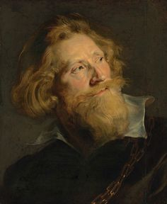 Sir Peter Paul Rubens (Siegen, Westphalia 1577-1640 Antwerp), Head of a bearded man