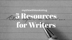 Need some writerly help but don't know where to look? Check out this blog post where I list my top 5 go to writing websites! #blogging #writing #writingresources