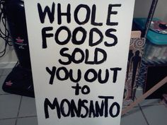 USDA Forces Whole Foods To Accept Monsanto - The title is so far from the truth.... Whole Foods bent down and kissed this companies ass.