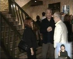 September 15, 2009 - Alan Rickman and Rima Horton at the after party of The Mysteries of Yiimimangaliso in Georgia. Copyright © unknown