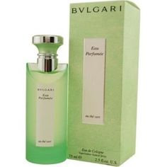 Bvlgari Green Tea Cologne...because Stephanie Plum says Ranger smells amazing