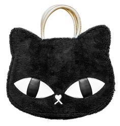 This anime inspired bag is right on trend with Tokyo's street fashion. Not only is the purse purr-fectly catty, it is practical too!
