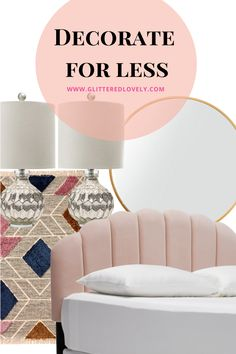 I don't know about you but I love home decor. Shopping for it can easily get out of control and sometimes you can end up spending more than anticipated. Here are some tips to decorate for less. #homedecorbudget #howtodecorate