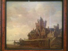 Jan Van Goyen - rivierlandschap met burcht 1648 - MSK Gent
