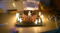 Pirate Ship Cake Recipe Comments | Themed Cakes | FamilyFun