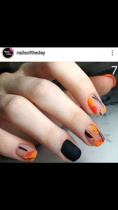 cute for fall! Classy Nails, Fancy Nails, Stylish Nails, Simple Nails, Trendy Nails, Cute Acrylic Nails, Glitter Nails, American Nails, Minimalist Nails