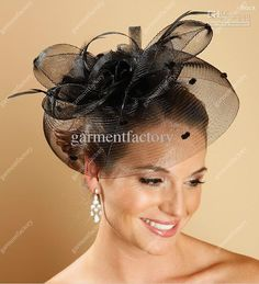 fe340614c67 Image result for how to wear a fascinator with short hair Wedding  Headdress