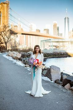 To really lean into their Brooklyn-inspired theme, this couple enjoyed some New York-style pizza following their elopement! Bridal Portrait Poses, Diamond Hair, Most Beautiful Images, Bridal Pictures, Looking Dapper, New York Style, Elopement Inspiration, Groom Attire, Bridesmaid Dresses