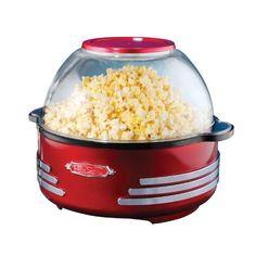 Nostalgia Electrics RSP100RETRORED Retro Series Stirring Popcorn Maker