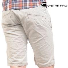 G-STAR RAW (ジースターロー) チノショーツ グレー RECRUIT CHINO SHORT【送料無料】 sho-gs-036
