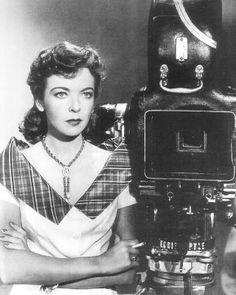 Women have always been behind the camera.  Pioneer filmmaker, Ida Lupino.