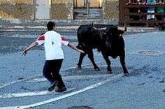 Santacara: Toropasion - Fiestas de Santa Eufemia (2) Animals, Saints, September, Parties, Animais, Animales, Animaux, Animal