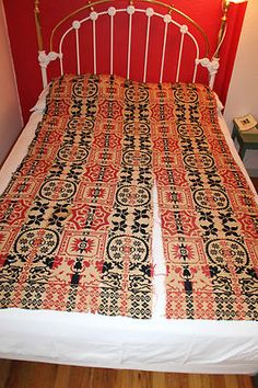 Antique Coverlet