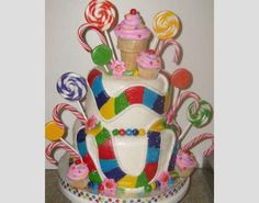 cute cake for candy land party