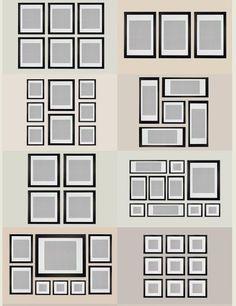 Picture Frame Design Ideas frame design ideas Gallery Photo Wall Ideas