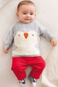 Buy Christmas Penguin Jumper (0-18mths) from the Next UK online shop