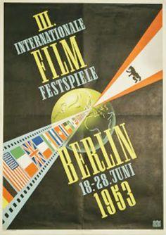 Berlinale   1953   Poster