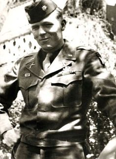 "Richard D. ""Dick"" Winters (1918 – 2011) Commander of Easy Company."