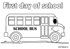 First Day Of School Coloring Page - √ 32 First Day Of School Coloring Page , Happy First Day School Say Mr Pencil Coloring Page Preschool Coloring Pages, Flag Coloring Pages, Online Coloring Pages, Coloring Sheets, Starting School, Beginning Of School, First Day School, School Fun, Preschool Colors