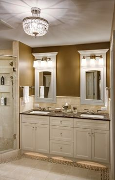 under-cabinet lighting for your bathroom at night