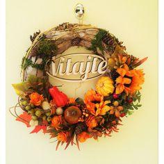 jesenný nature veniec 30 cm Wreaths, Fall, Home Decor, Autumn, Decoration Home, Door Wreaths, Fall Season, Room Decor, Deco Mesh Wreaths