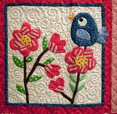 Quilt Inspiration: Spring is in the air: Contra Costa Quilt Show