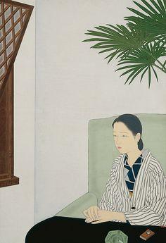 Suzuki Yasuyuki Daydreaming circa 1935
