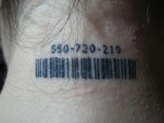 Barcode Tattoo