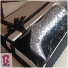 Boot in a Box Cake for Cher!
