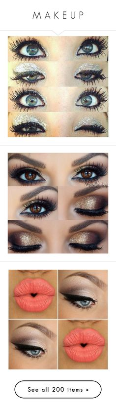 """""""M A K E U P"""" by lovedislife-anons ❤ liked on Polyvore featuring makeup, eyes, beauty, eye makeup, pictures, beauty products, eyeshadow, filler, palette makeup and eyes/makeup"""