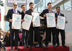 New Kids On The Block are mobbed by adoring fans as they score a ...