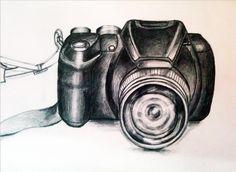 hand drawing/photo camera
