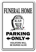 Funeral Director Sign Parking Parlor Gift Mortician Undertaker Mortuary Funny for sale online Undertaker, Funny Signs, Funny Jokes, Funniest Jokes, Funny Laugh, Fun Funny, Funeral Jokes, Novelty Signs, Meme Pictures