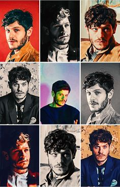 Iwan Rheon (kind of popArt found on tumblr)