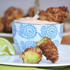 avocado fries with southwestern ranch dip
