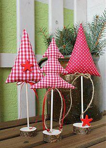 Dekorácie - vianočné stromčeky - 3247797