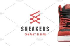Sneakers Logo by Vepix on @creativemarket