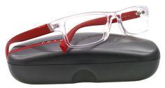 Prada Eyeglasses VPS 03C RED 2AZ-101 VPS03C 54MM « Impulse Clothes