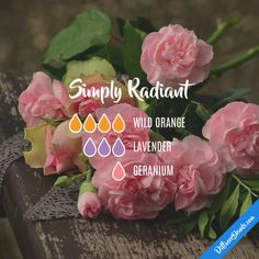 Simply Radiant - Essential Oil Diffuser Blend