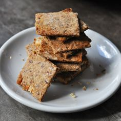 Fig Walnut and Flax Crackers HealthyAperture.com