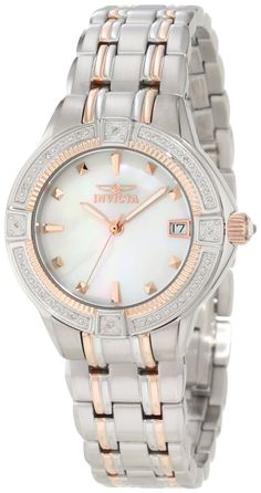#Invicta #Watch , Invicta Women's 0269 II Collection Diamond Accented Stainless Steel Watch