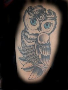 Owl Tattoos for Girls | Owl Tattoo Art For Female