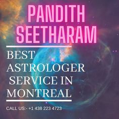 Marriage Astrology, Black Magic Removal, Astrology Predictions, Mental Conditions, Health Problems, Love Life, Positive Vibes, Montreal, Counseling