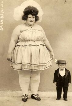 sideshow (freakshow) performers | vintage circus.
