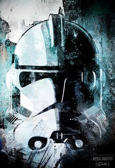 Star Wars Clone Trooper  Geekery fan art by mediagraffitistudio