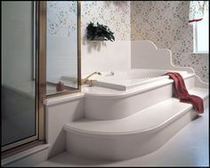 corian tub surround