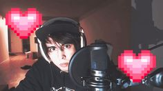 ♡POSITIVE VIBES♡ I LOVE LEAFY SO MUCH I I WANT TO KISS HIM AHHEHEHEBXVCBD Calvin Vail, I Miss You, Love You, Missing You So Much, Kissing Him, You Videos, Positive Vibes, Youtubers, Positivity